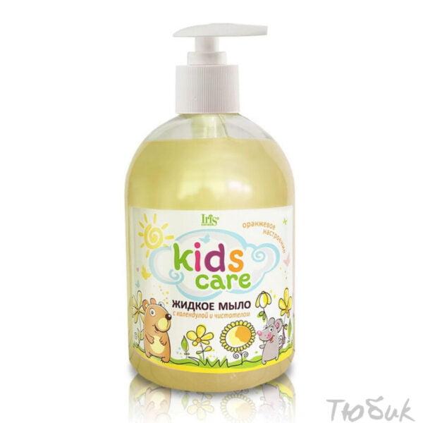 Жидкое мыло с календулой и чистотелом